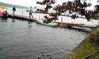 山中湖畔水位上昇中.JPG